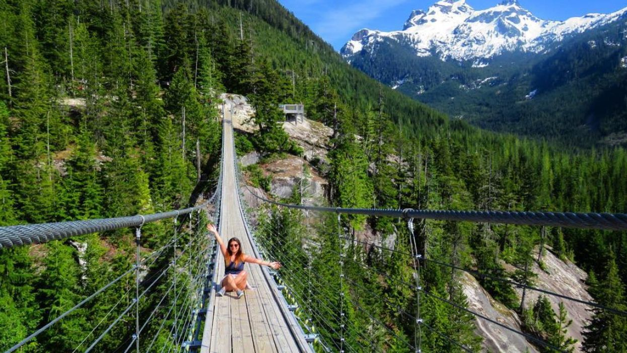 100-Meter Long Squamish Suspension Bridge Needs to Be Added To Your BC Bucket List