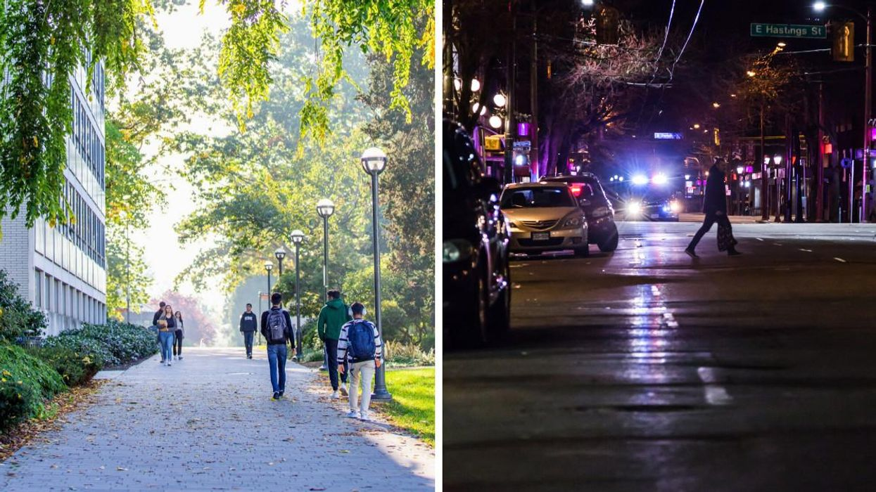 2 UBC Students Have Died After A Car 'Veered Off' The Road Onto A Campus Sidewalk