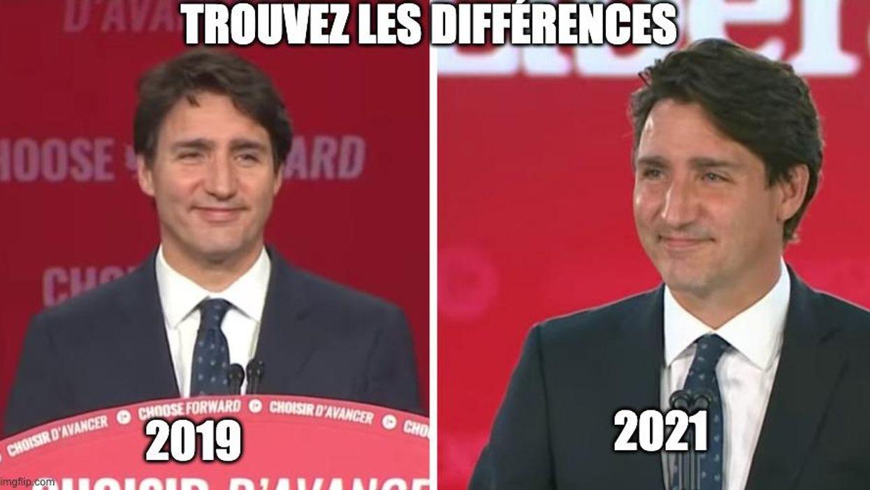 6 «memes» hilarants qui résument ce que les Québécois ont pensé des élections canadiennes