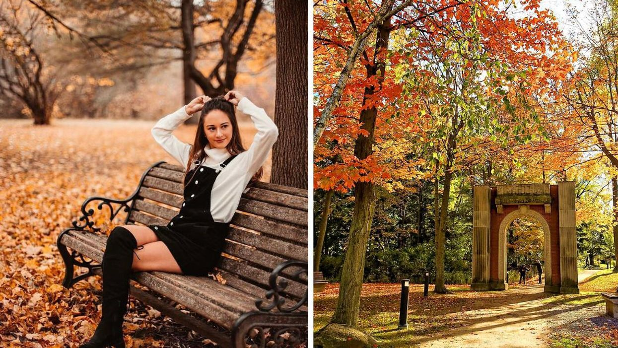 7 Enchanting Spots Near Toronto That Are Like Strolling Through Central Park In Fall