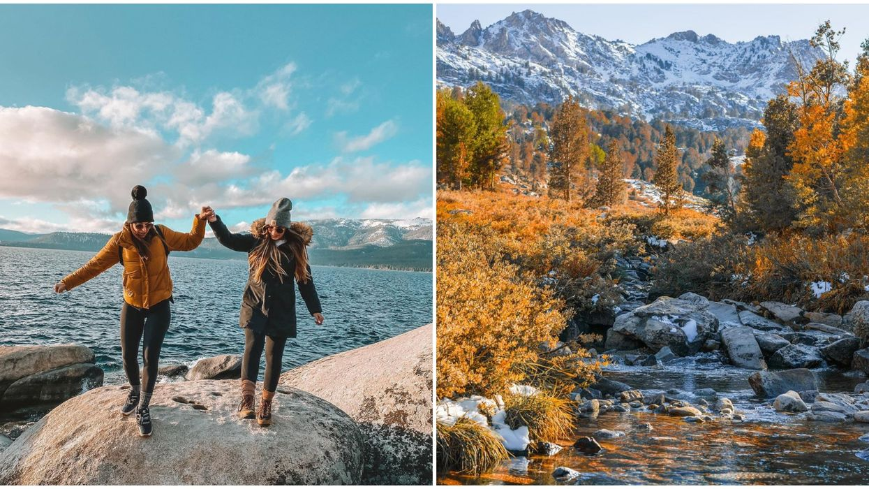 7 Fall Road Trips In Nevada If You're Craving Sweater Weather