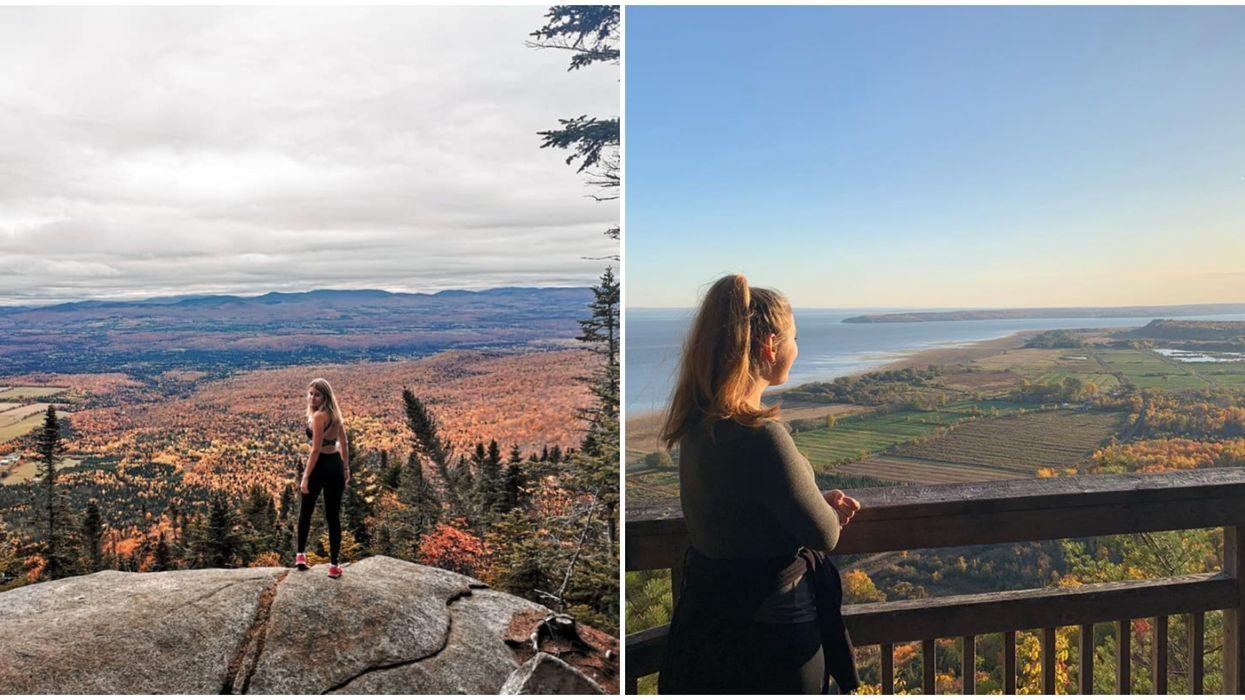 7 hikes à faire cet automne au Québec avec des vues et des paysages à couper le souffle