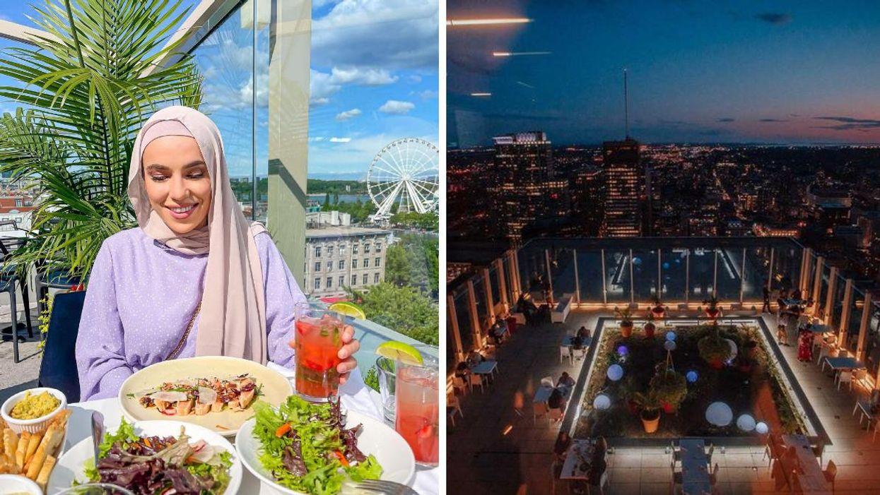 7 terrasses avec une belle vue sur Montréal