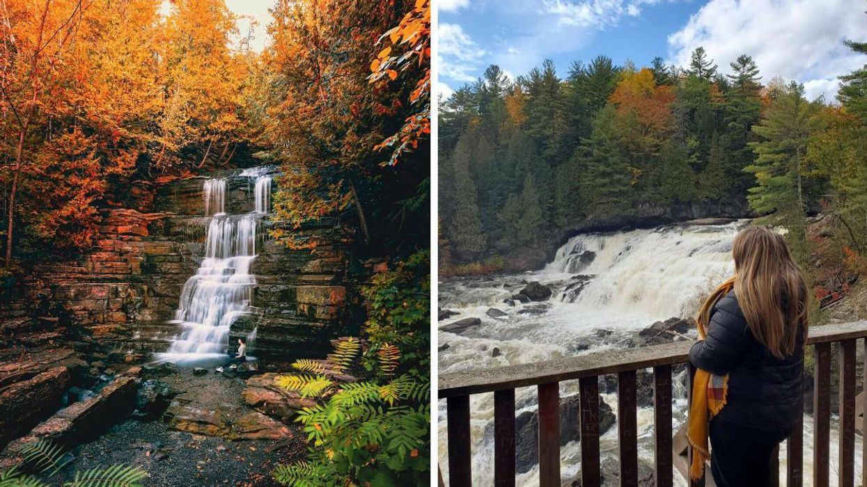 7 Waterfalls Near Ottawa That Are Surrounded By The Most Spectacular Fall Scenery