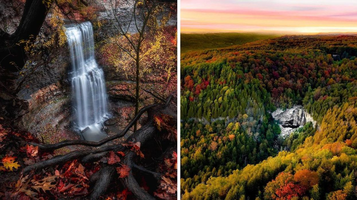 7 Waterfalls Near Toronto That Transform Into A Red & Gold Oasis Every Autumn