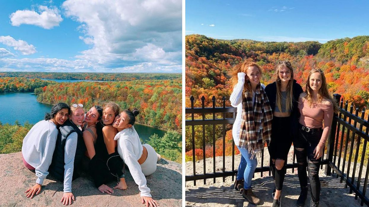 9 Fall Hikes In Ontario With Epic Lookouts Over The Fall Colours