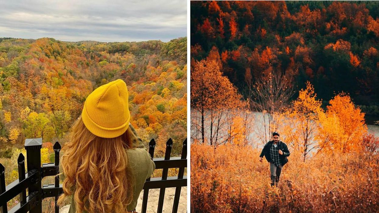 9 Towering Lookouts Near Toronto Where You Can Gaze Over All The Fall Colours