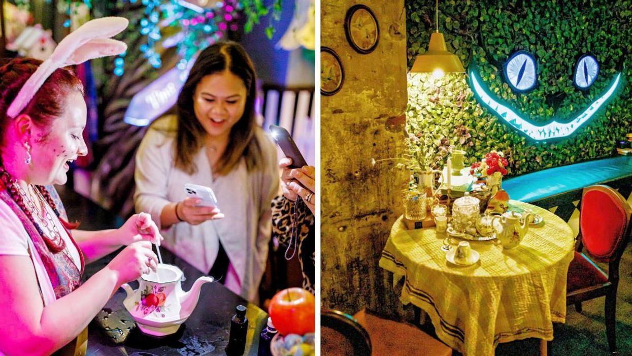 A Boozy 'Alice In Wonderland' Tea Party Is Coming To Toronto & It's Pure Magic