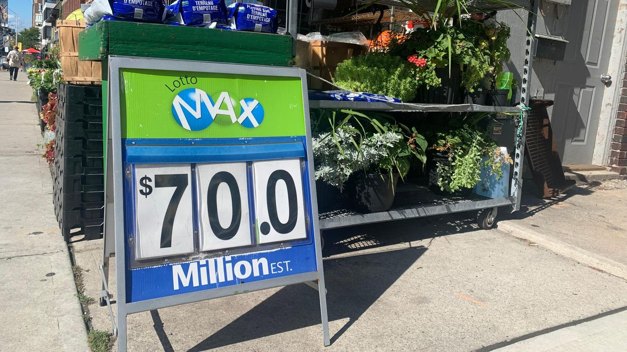 A Lotto Max Winner Has Been Declared & The Hunt For The $70 Million Ticket Starts Now