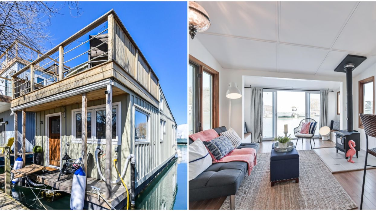 A Toronto Houseboat For Sale Will Really Float Your Boat And Only Costs $375,000