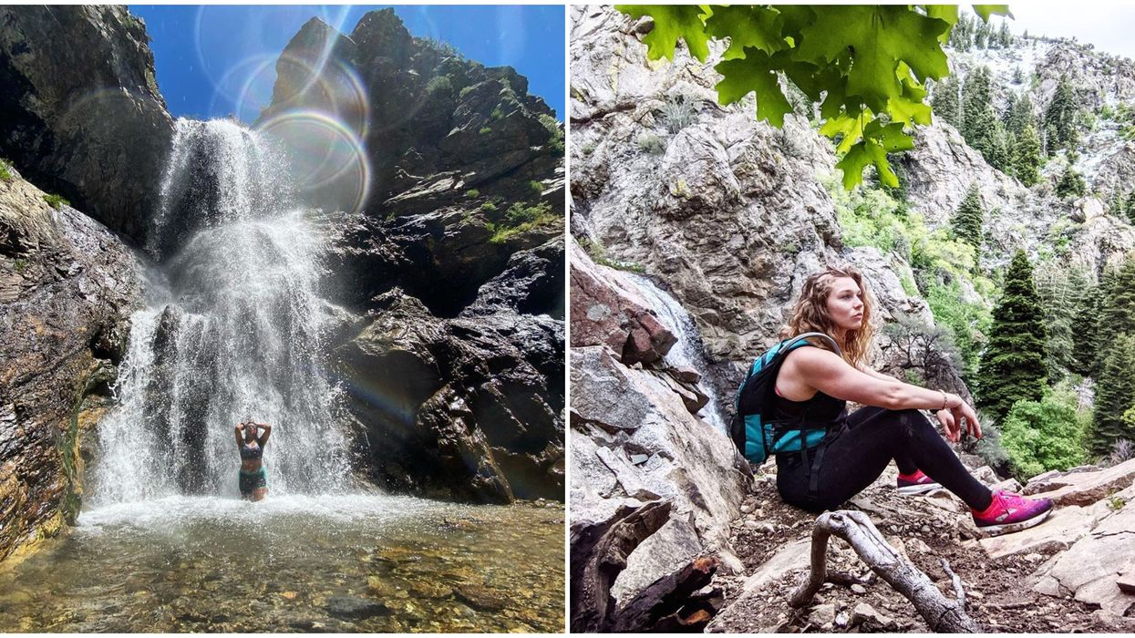Adams Canyon Trail In Utah Is A Zen Outdoor Escape With A 40 Foot Waterfall