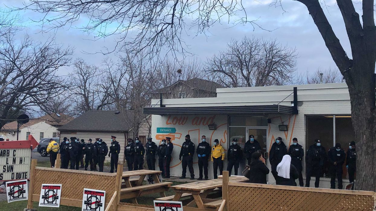 Adamson BBQ Protest Resulted In At Least 2 People Getting Arrested