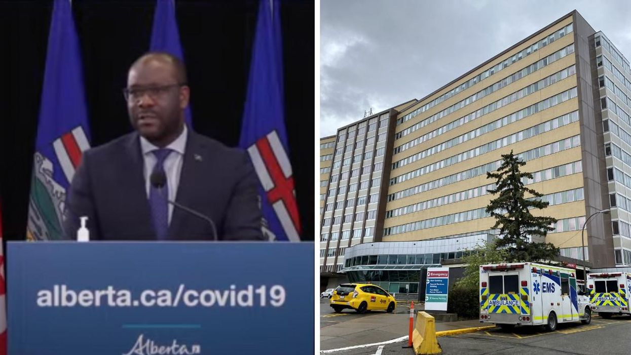 Alberta Is Cracking Down On Protests Outside Of Hospitals & Introducing Some Serious Fines