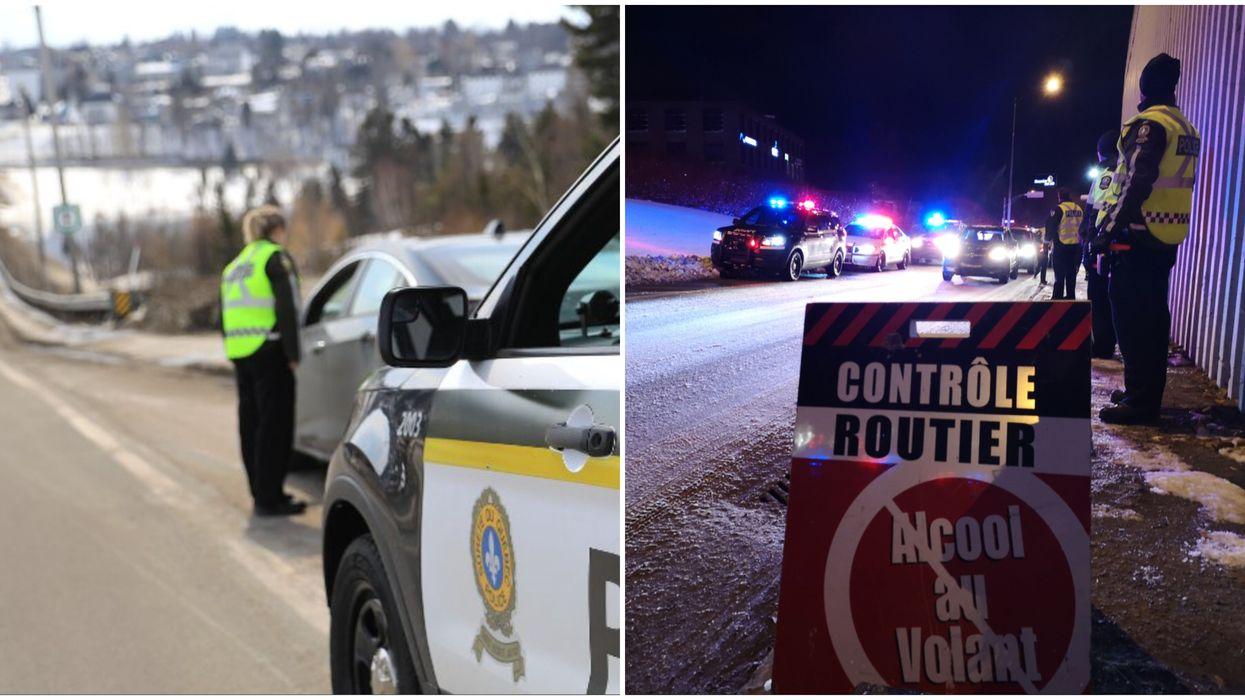Alcool et drogues au volant: contrôles policiers intensifs sur les routes du Québec en décembre