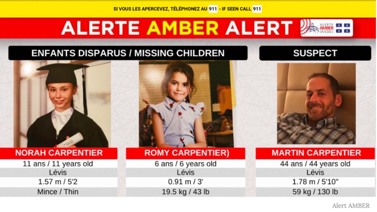 Alerte AMBER : deux fillettes sont retrouvées inanimées