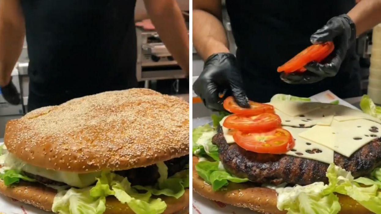 Allons Burger : Ce resto de Laval sert un gigantesque burger