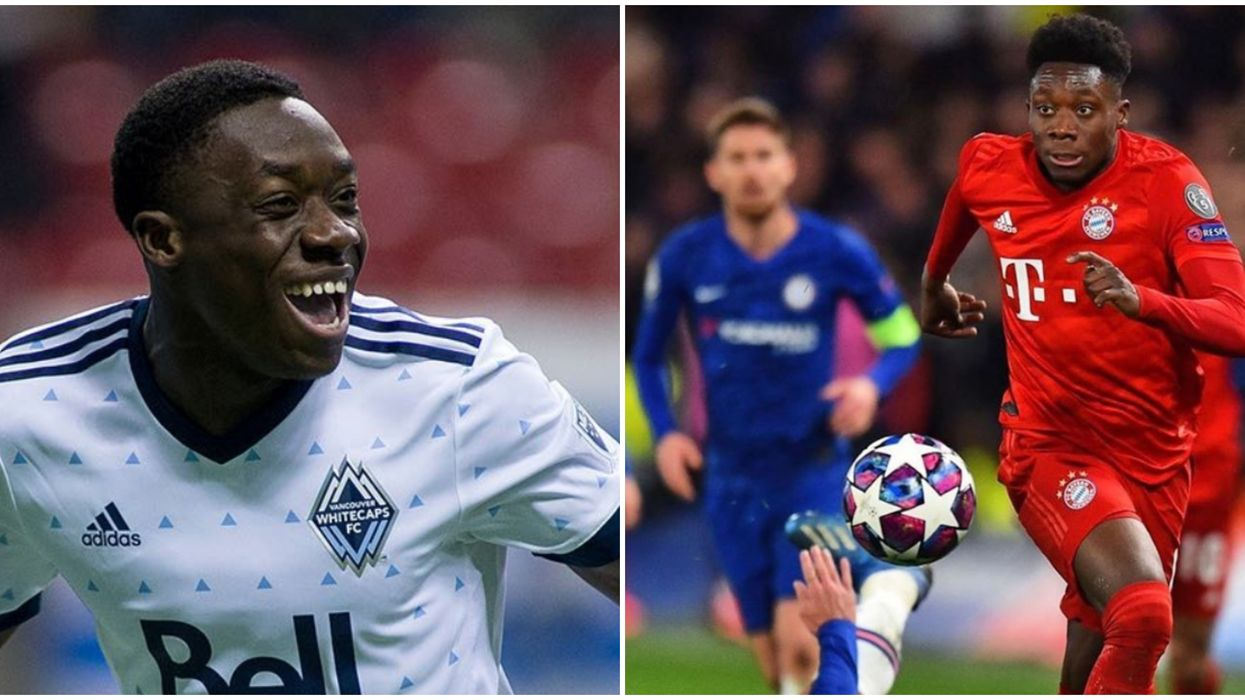 Alphonso Davies Could Become A Global Soccer Star & He's From Alberta