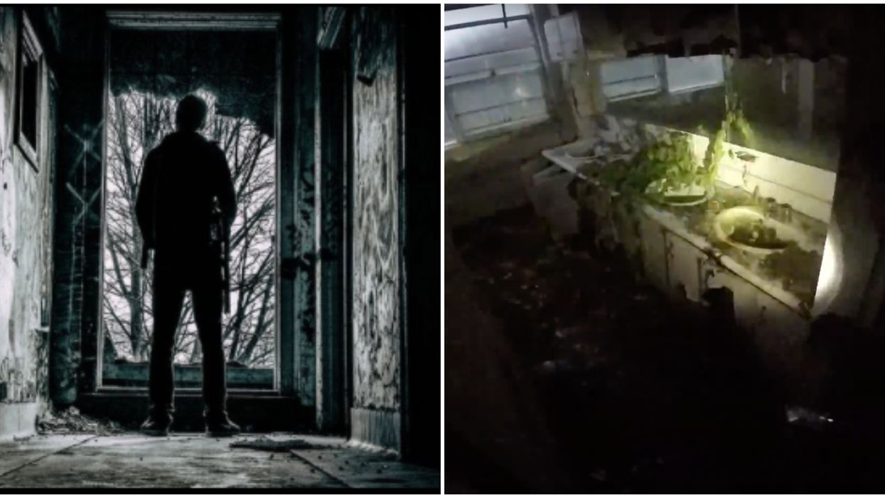 An Ontario Man Explored An Abandoned Asylum & It's Straight Out Of Silent Hill (VIDEO)