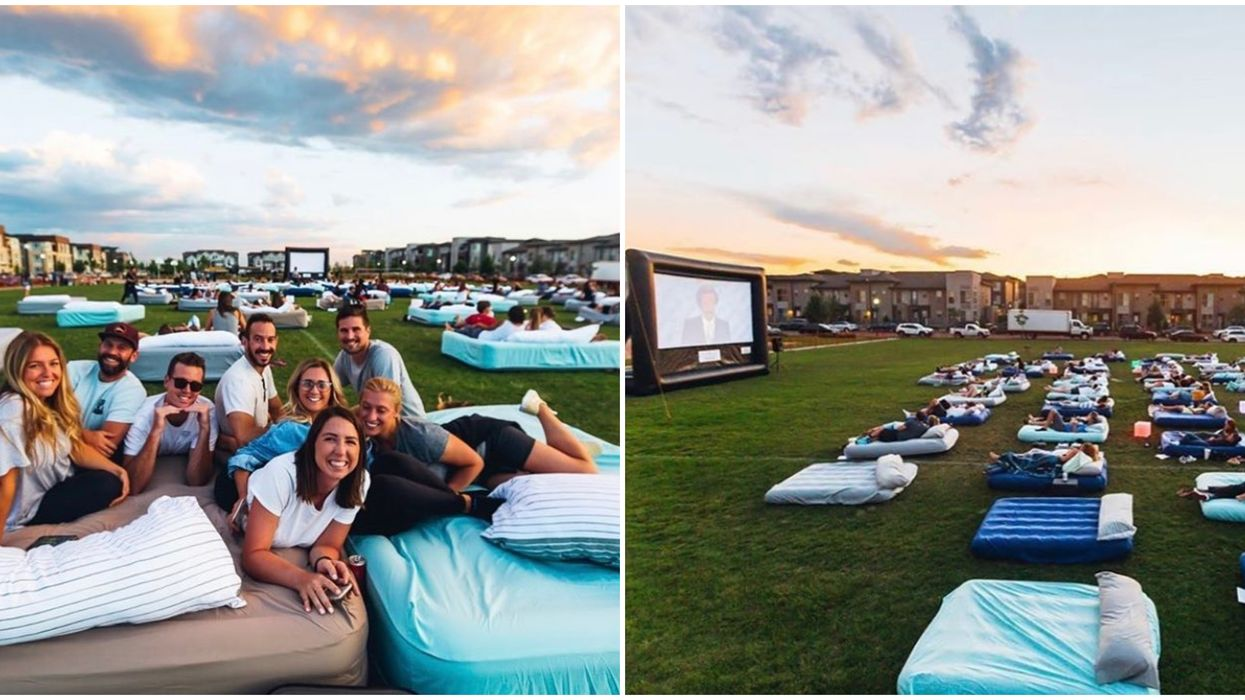 An Outdoor Bed Cinema Is Coming To San Diego This June