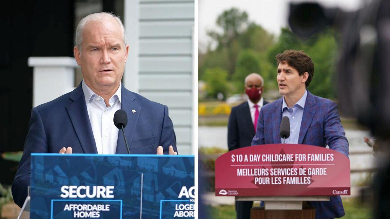 Avortement au Canada : Justin Trudeau attaque Erin O'Toole