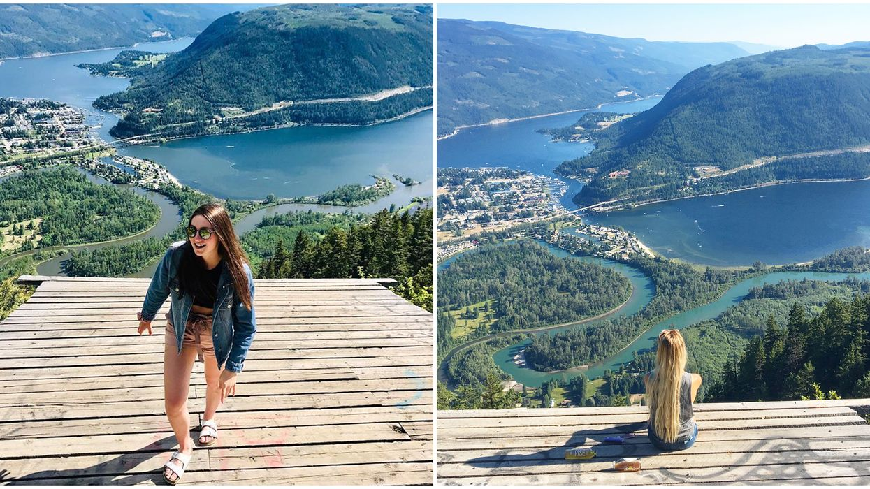 B.C. Lookout Point Makes You Feel Like You're Walking In The Sky