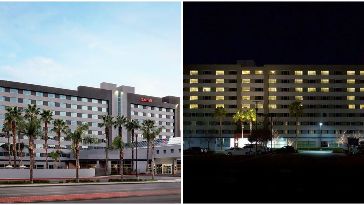 Bakersfield Marriott Is An Actual Sign Of Hope To Brighten Local's Spirits