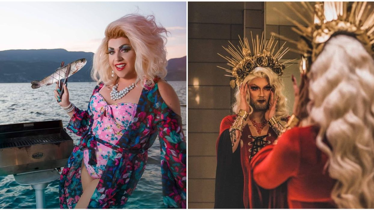 BC Drag Queens Deliver Food And Wine To Your Door Starting Tomorrow
