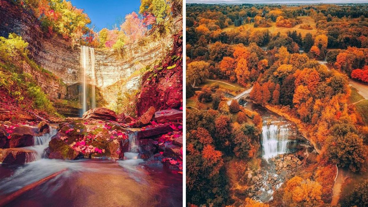 Beautiful Ontario Waterfalls That Are Even More Spectacular In The Fall