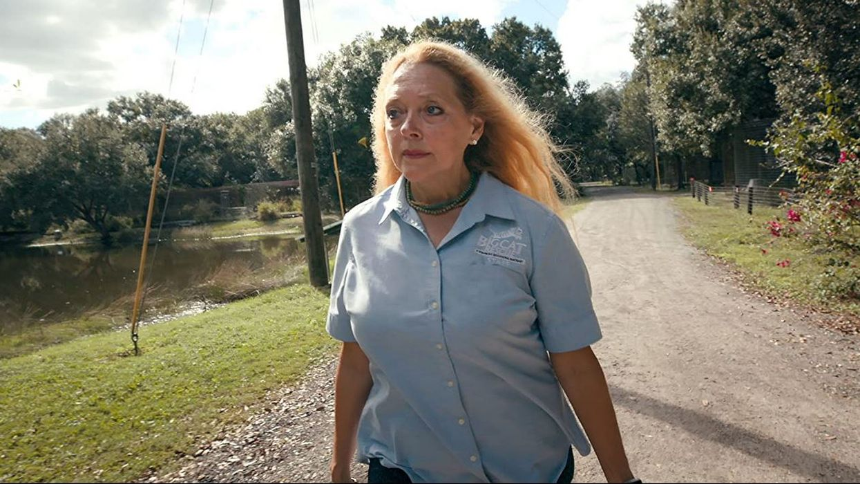 Big Cat Rescue Carole Baskin Says She Was Attacked By Murderer Caught In Florida