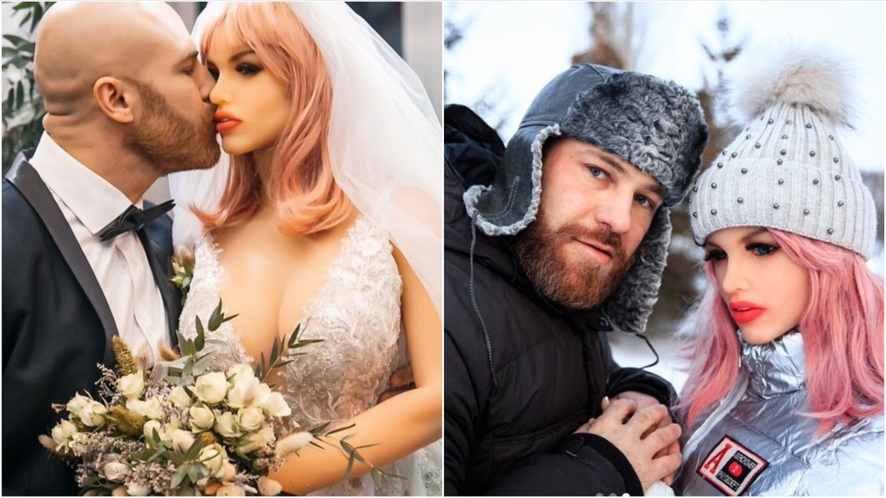 Bodybuilder Who Married His Silicone Girlfriend Has Revealed That She's 'Broken'