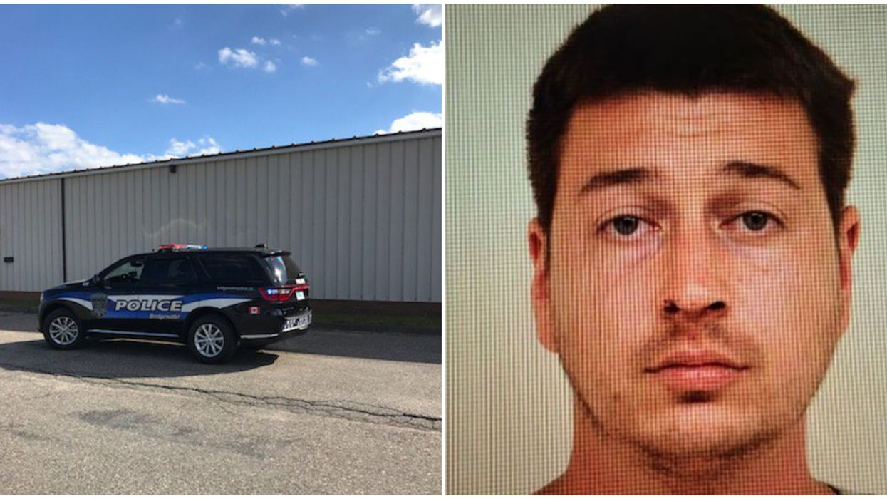 Bridgewater Manhunt Still Underway For A Man Who Stabbed A Cop & A Police Dog