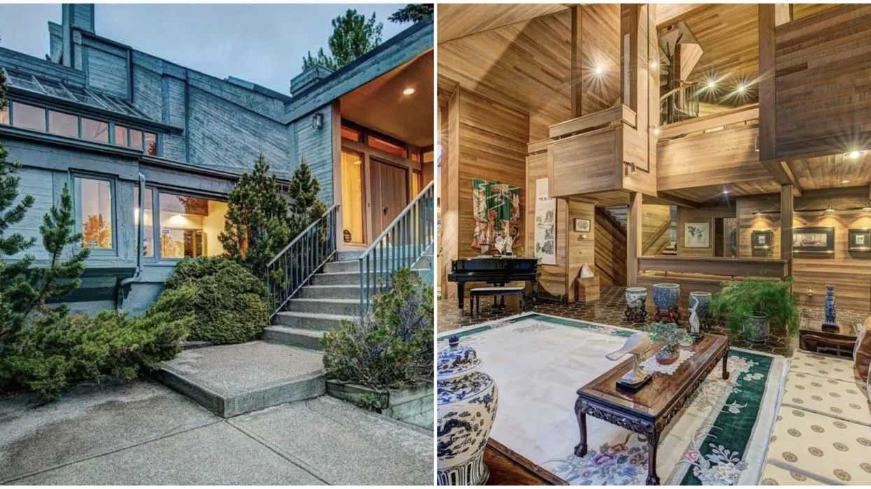 Calgary Mansion Is Humongous & Looks Like A Massive Spa On The Inside