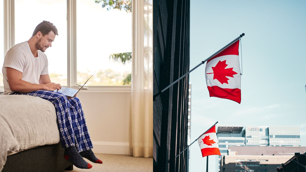 Canada's Best Work From Home Cities Were Just Revealed & They're All Over The Country