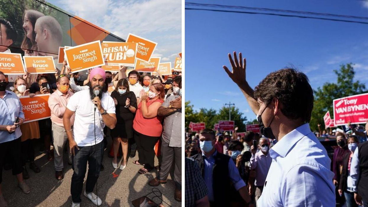 Canada's Election Results Are In & Here's How The Party Leaders Responded