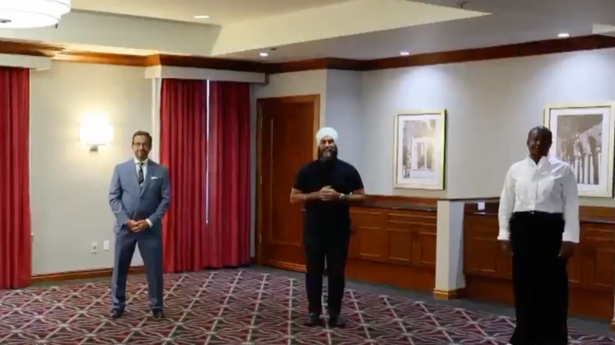 Canada's Party Leaders Shared A Video Message About Vaccines & It's Awkward As Heck
