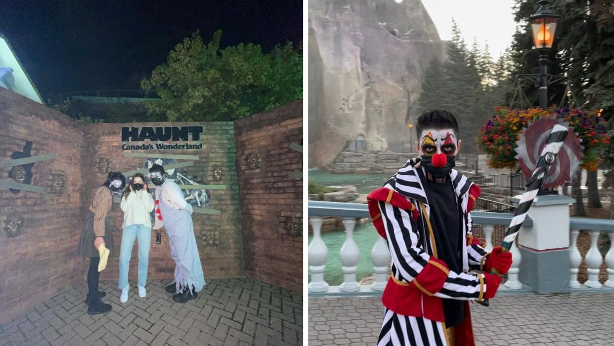 Canada's Wonderland Halloween Haunt Is Now Open & Here's A Terrifying First Look (PHOTOS)