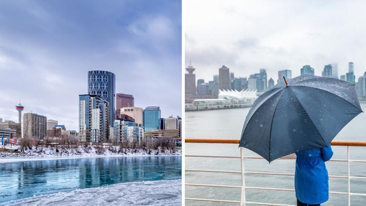 Canada's Fall Forecast Predicts An Early Freeze & Excessive Rain In Some Western Provinces