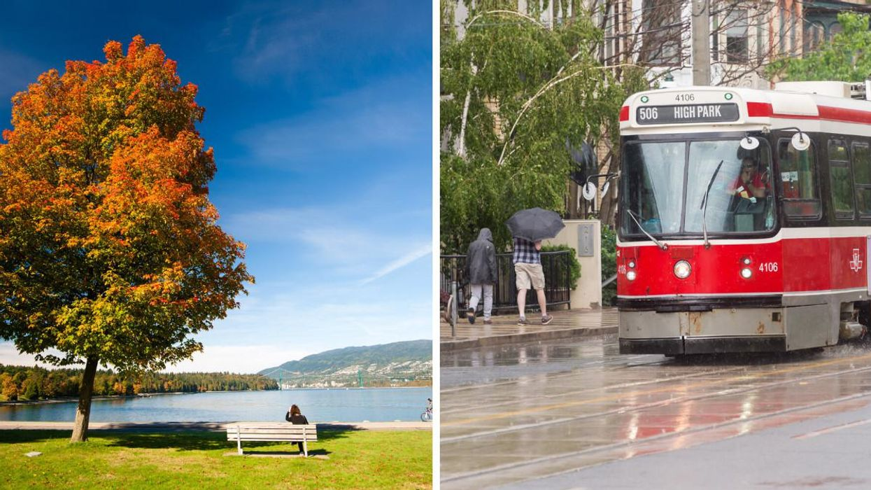 Canada's Labour Day Weekend Weather Forecast Has Arrived & It's Looking Chaotic