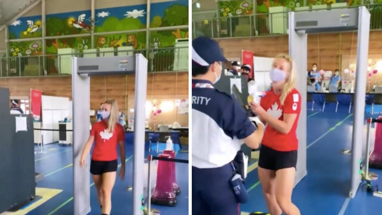 Canadian Olympian Kelsey Mitchell Pulls Off A Hilarious Airport Security Prank