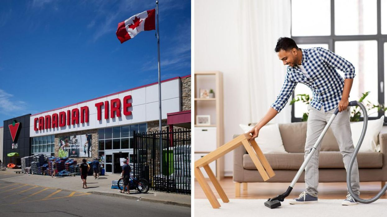 Canadian Tire Has Vacuums Up To 60% Off If Your Place Needs A Major Clean-Up For The Holidays