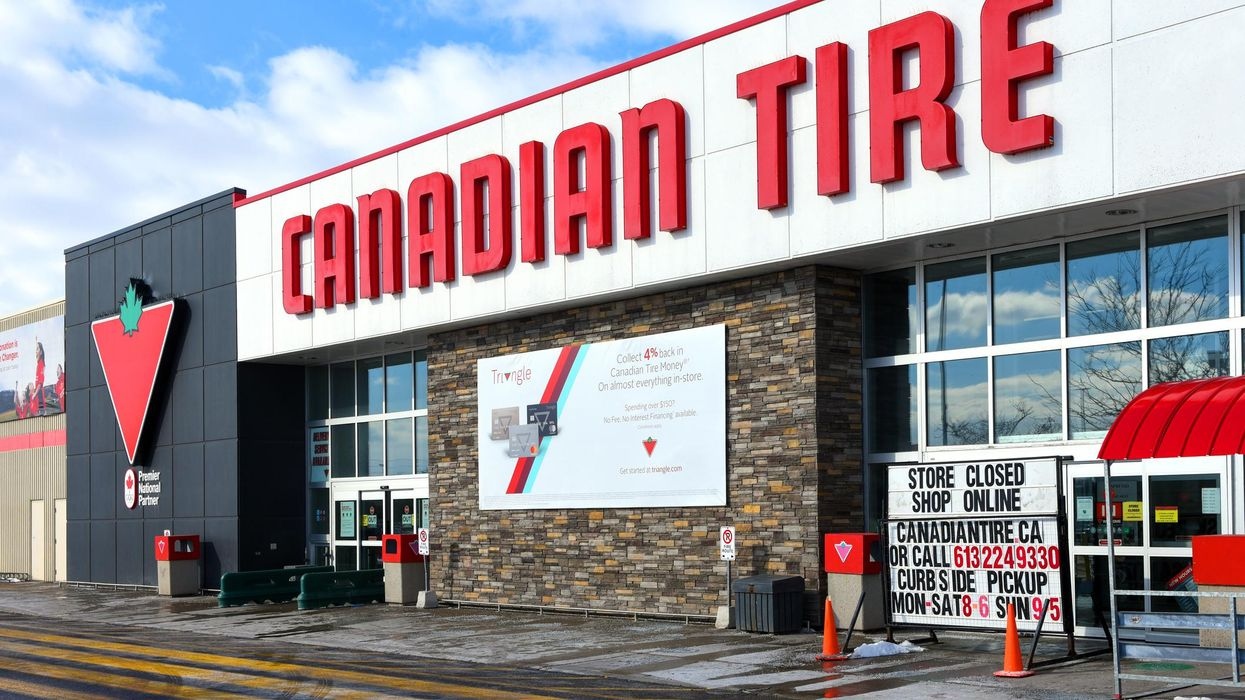 Canadian Tire Ranked As Canada's 'Most Respected' Big Store Brand