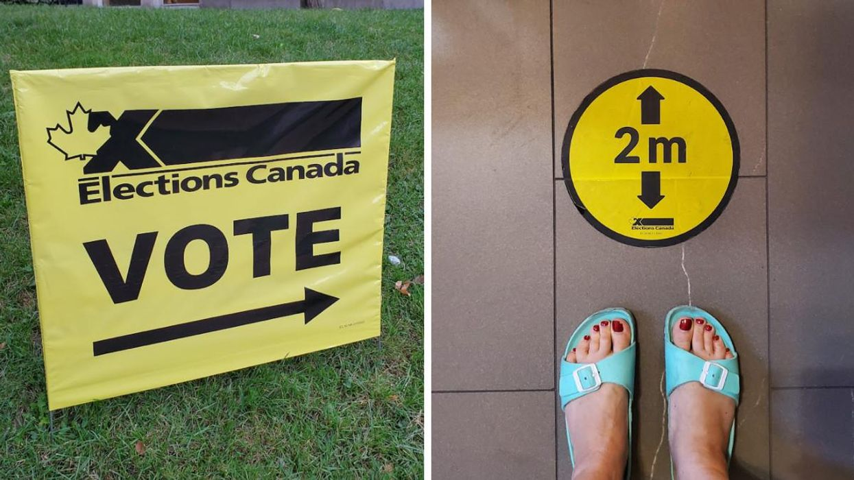 Canadians Will Be 'Refused Entry' To Some Polling Stations If They Don't Wear A Mask