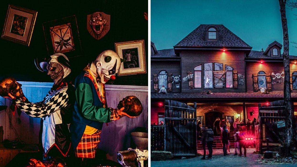 Ces maisons hantées près de Montréal transformeront tes souvenirs d'enfant en horreur