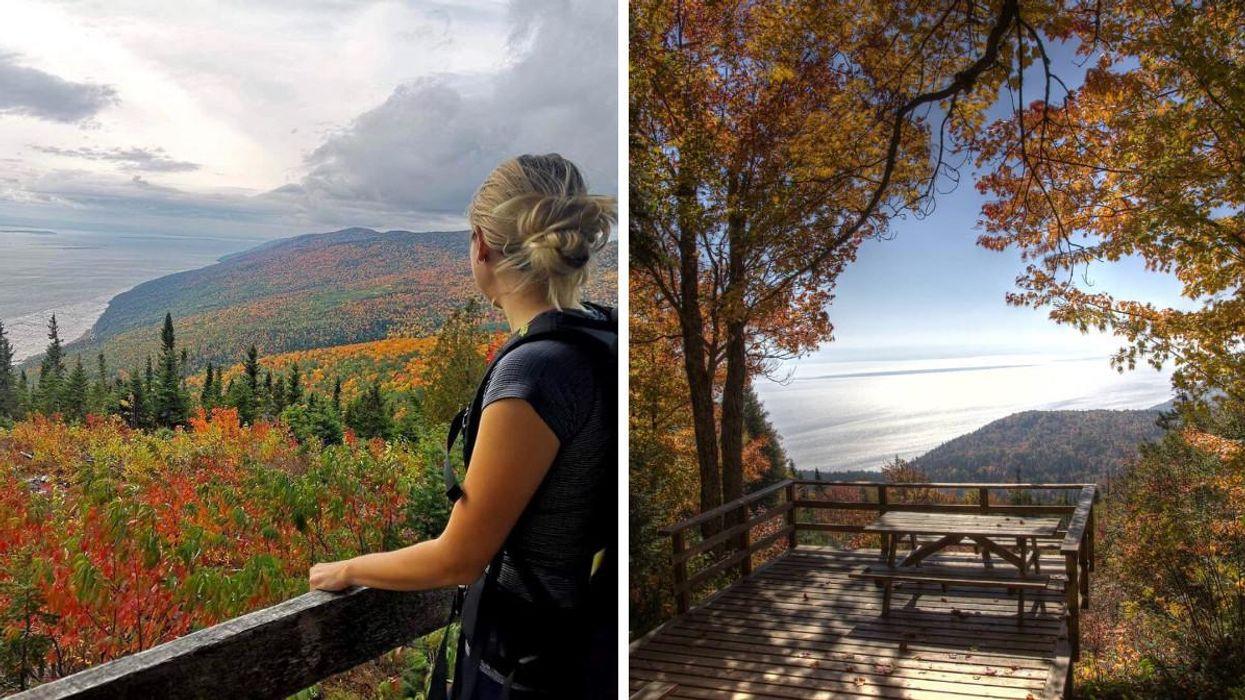 Ces randonnées près de Québec mènent vers des belvédères avec vues sur le fleuve