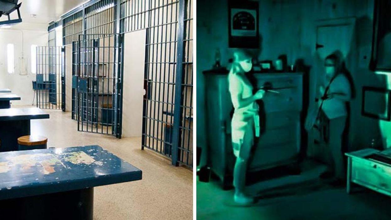 Cette ancienne prison à 1 h 30 de Montréal organise des chasses aux fantômes dans le noir
