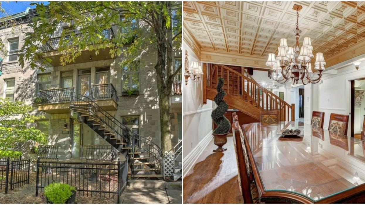Cette maison à vendre à Hochelaga-Maisonneuve d'1,2 M$ vaut le détour