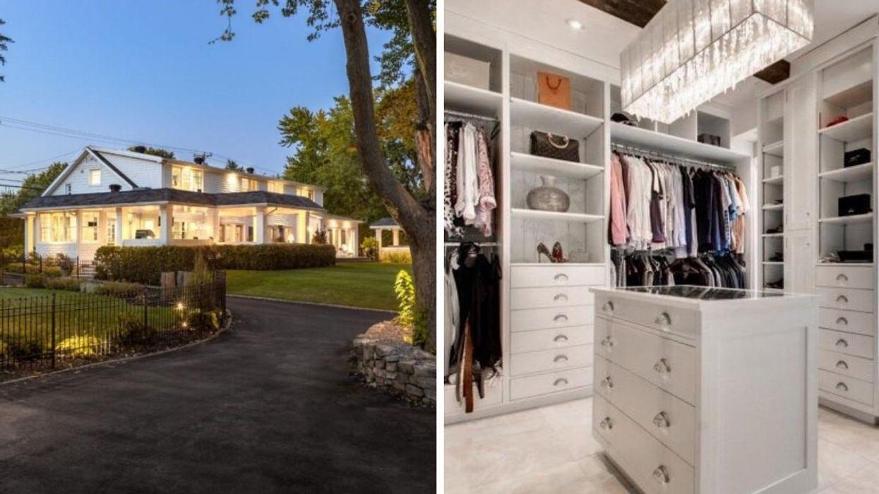 Cette maison de 1,2 M$ à Trois-Rivières possède un énorme « walk-in » de rêve