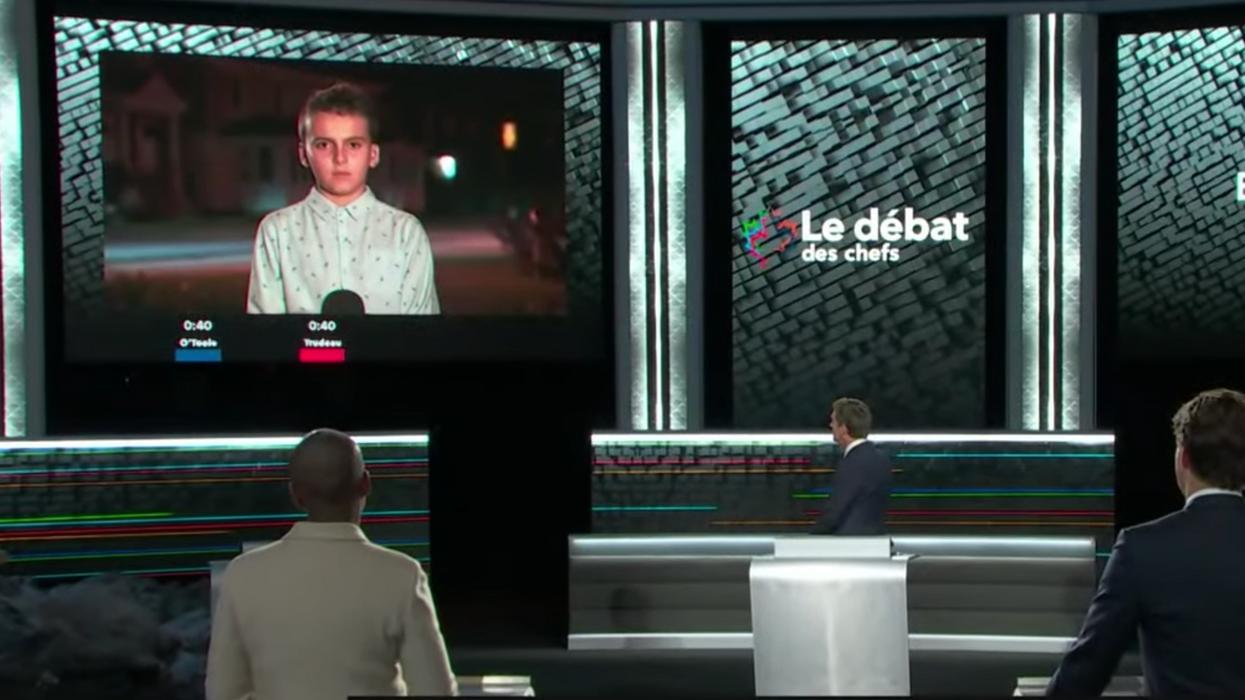Charles, un Québécois de 11 ans, vole la vedette au débat des chefs 2021