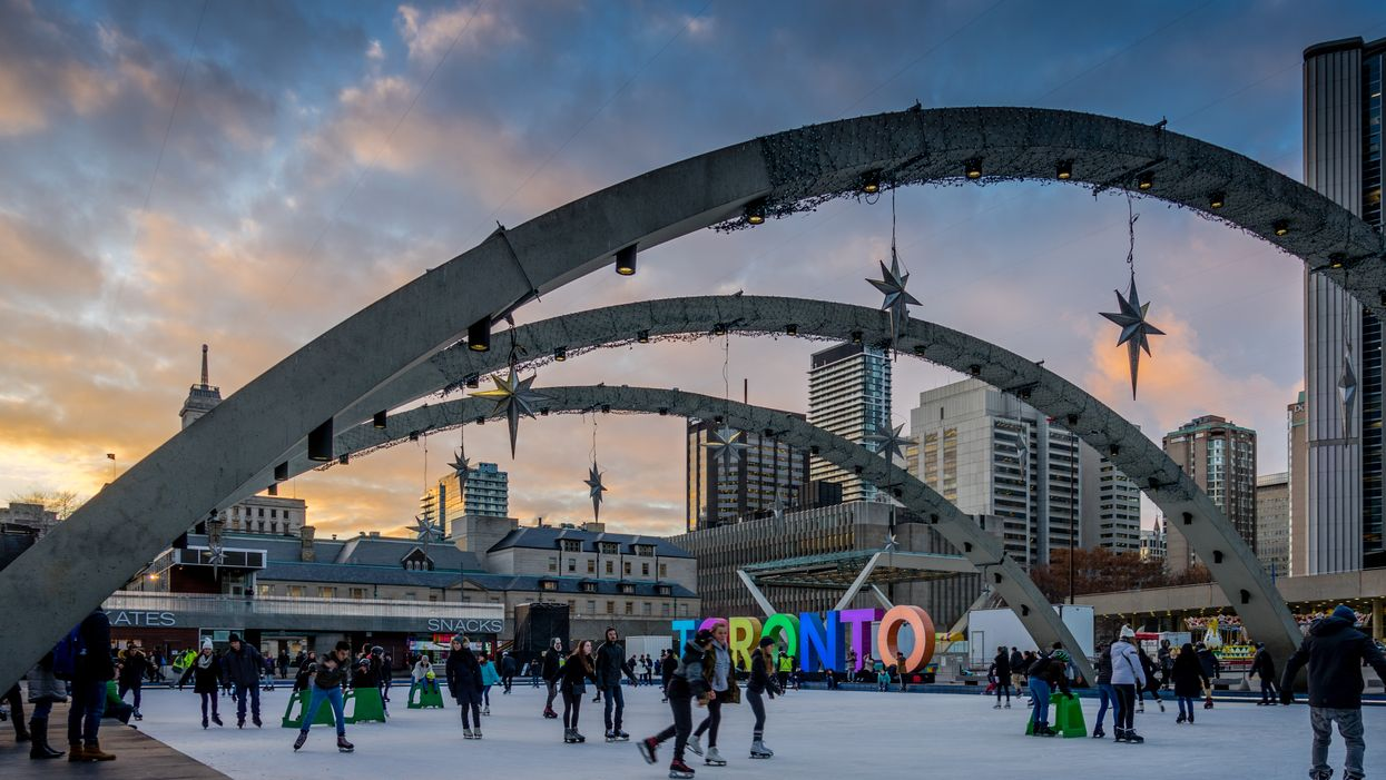 City of Toronto Ice Rinks Will Open This Month With Reduced Capacity