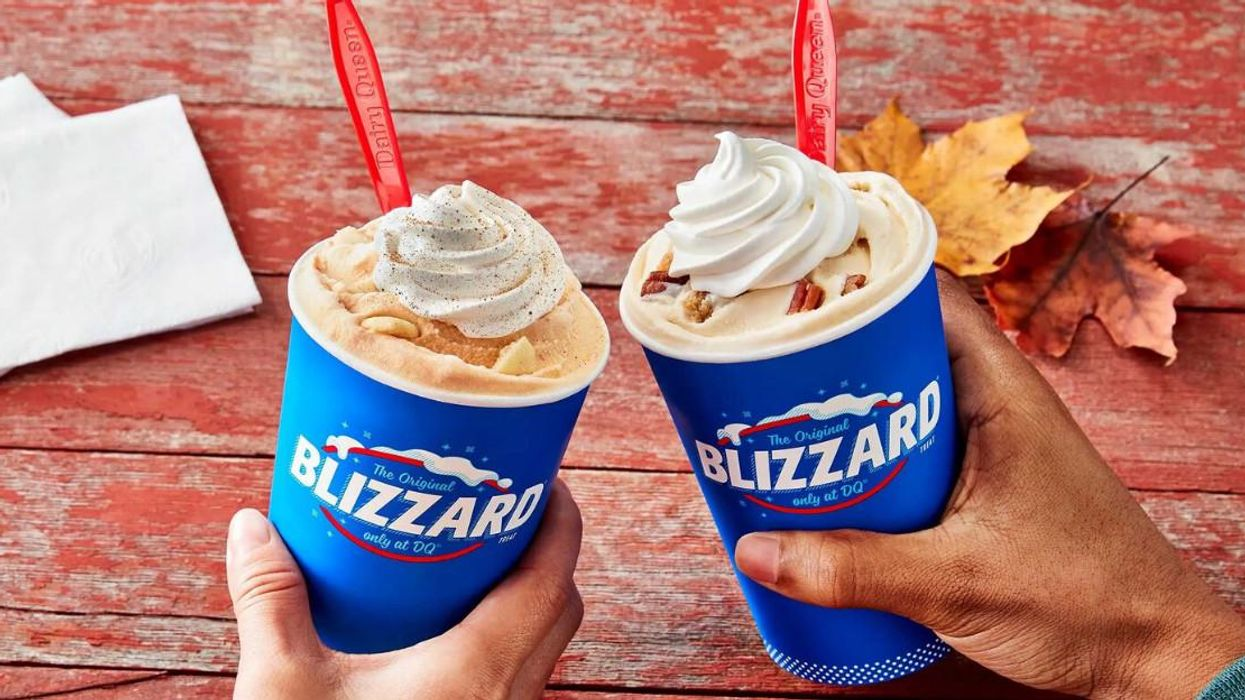 Dairy Queen Canada's New Fall Flavours Include Pecan Pie & The Return Of Pumpkin Pie Blizzard